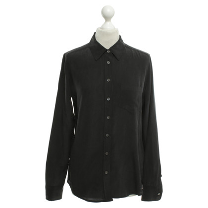 Equipment Zijden blouse in zwart