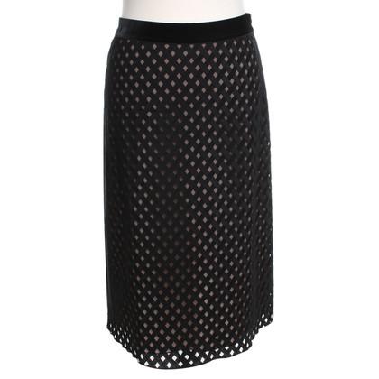 René Lezard skirt in black