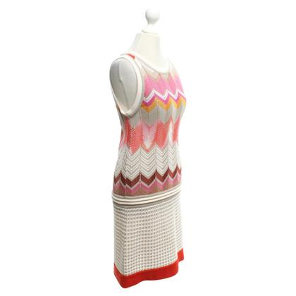 Missoni abito in maglia colorata