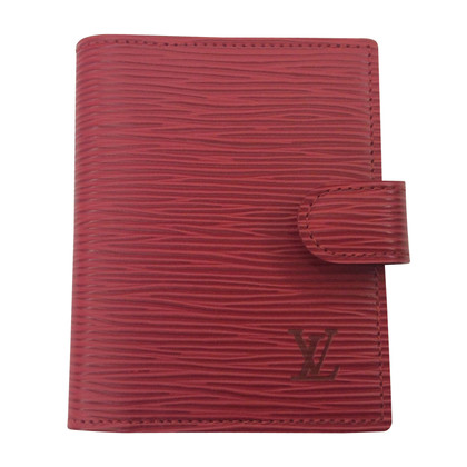 Louis Vuitton Notebook made of epileather