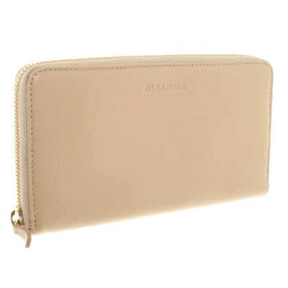 Jil Sander Wallet in beige
