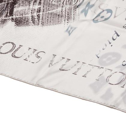 Louis Vuitton Seta stampata foulard