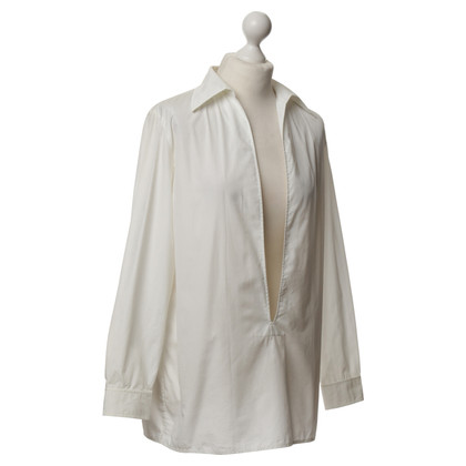 Hermès Tunic blouse in white