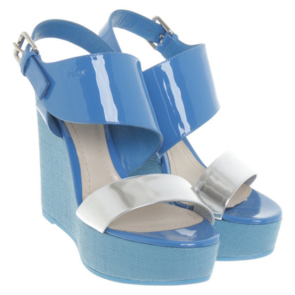 Christian Dior Wedges in blue