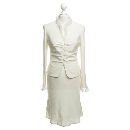 Rena Lange Kostuum in crème