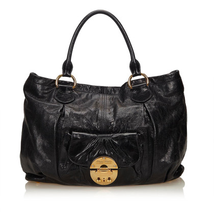 Miu Miu Leren Tote Bag