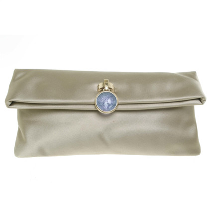 Bulgari clutch Beige