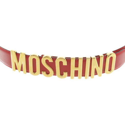 Moschino Belt in red