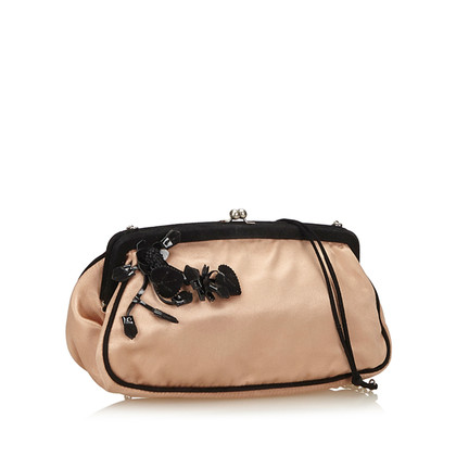 Prada Satin Chain Shoulder Bag