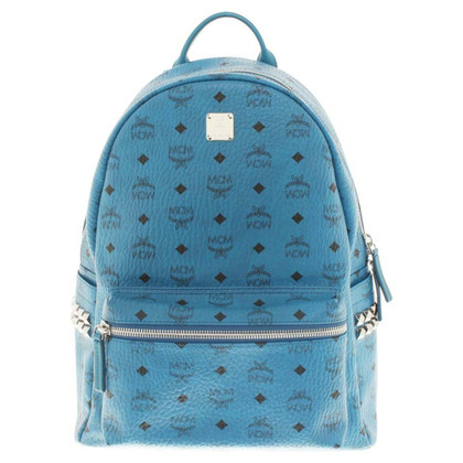 MCM Backpack in blue