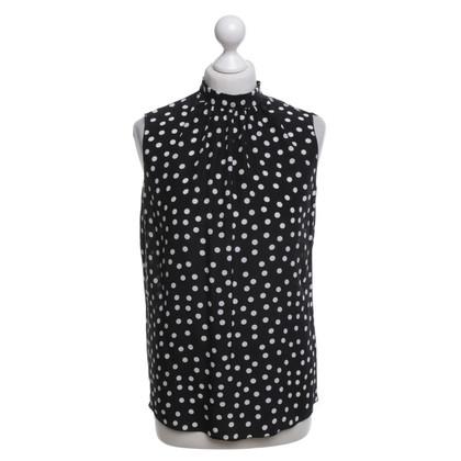 Dolce & Gabbana Blouse with dot pattern