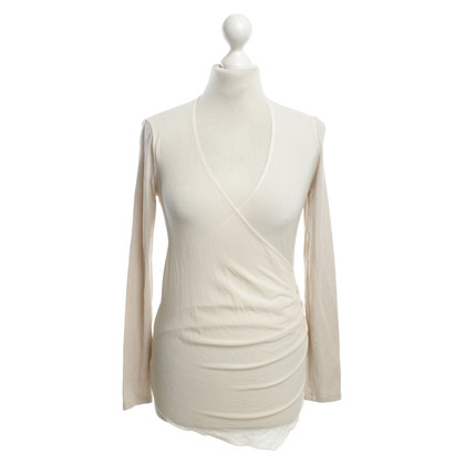 Marc Cain top with semitransparent use