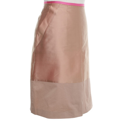 Dorothee Schumacher Rock in Tan / Pink