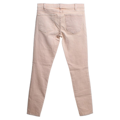 Current Elliott pantaloni a righe in rosa antico