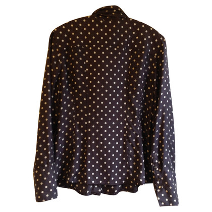 Marc Cain Zijden blouse met punten