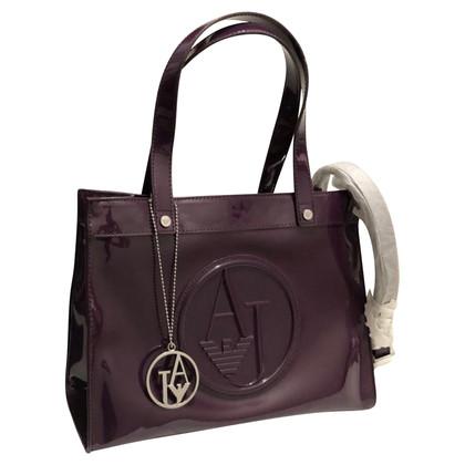 Armani Jeans Handbag in purple