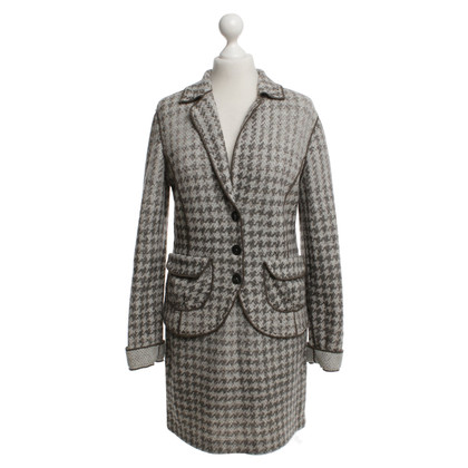 Marc Cain Costume with check pattern