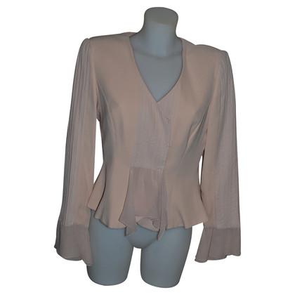 Armani Collezioni Silk jacket in pink