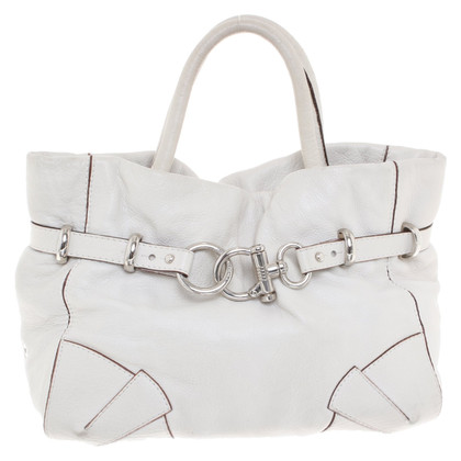 Sonia Rykiel Handle bag in cream white