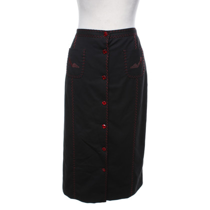 Moschino skirt with red details