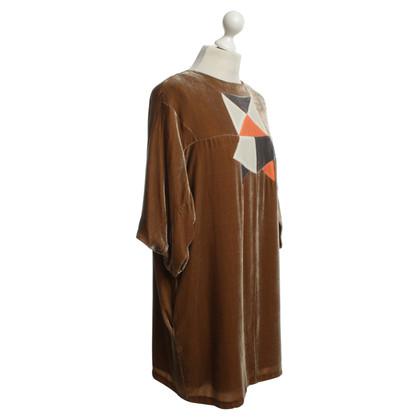 See by Chloé abito di velluto