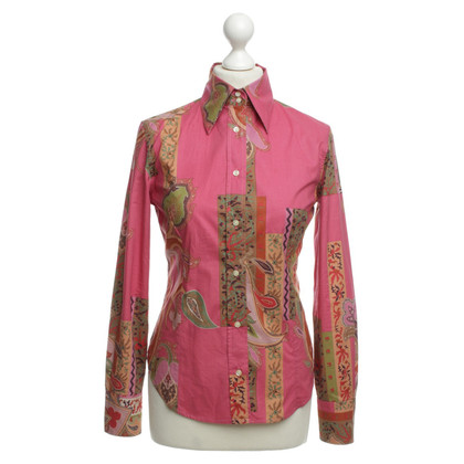 Etro Graphic print blouse