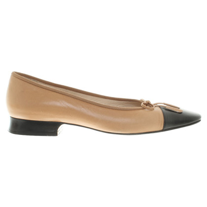 Chanel Ballerina's in Bruin / zwart