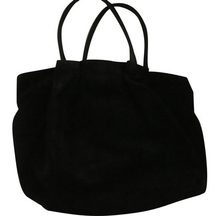 Furla Suede bag black