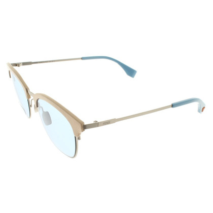Fendi Sunglasses in cream white