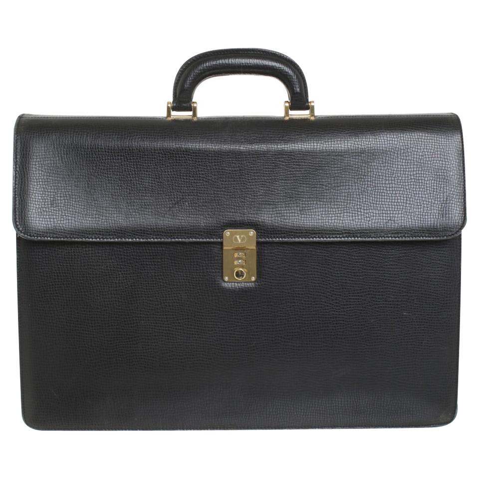 Valentino Briefcase in black