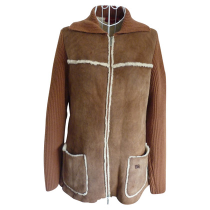 Burberry Manteau en peau de mouton