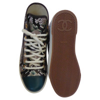 Chanel Sneakers from reptile leather