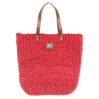 Max Mara Shopper braided material