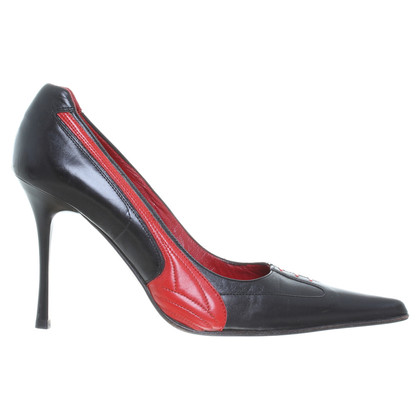 Gianmarco Lorenzi Pumps black/red
