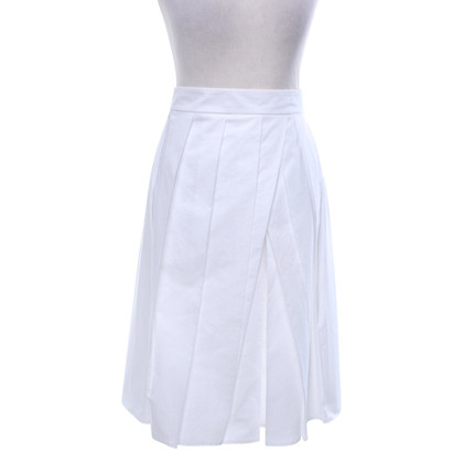 Strenesse Pleated skirt in white