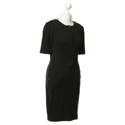 Burberry Short sleeve dress in black