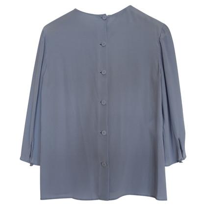 Prada Hellblaue Bluse