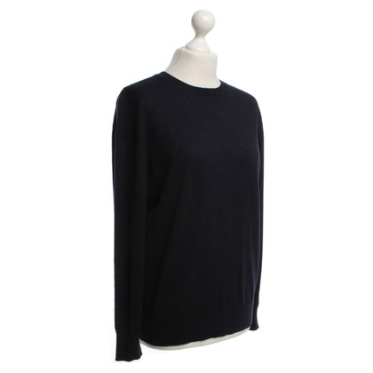 Dries van Noten Pullover in Dunkelblau