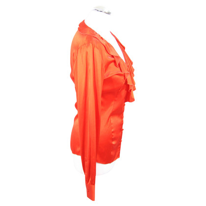 Armani Silk blouse in red