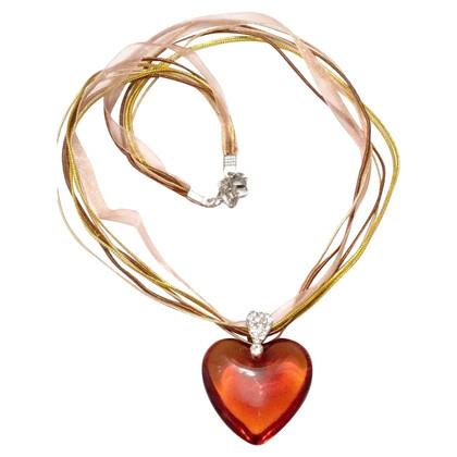 Twin-Set Simona Barbieri Necklace with heart pendant