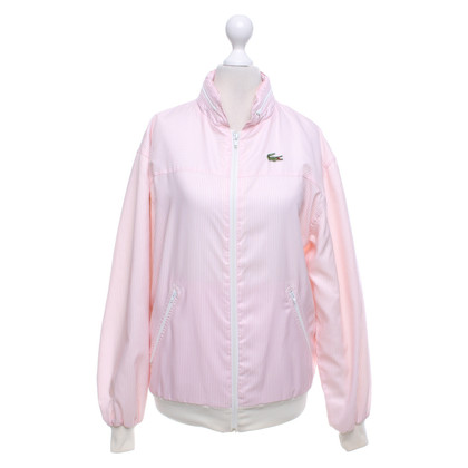Lacoste Blouson in roze / wit