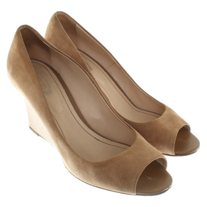 Tod's Wedges in brown