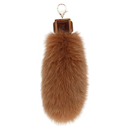 Louis Vuitton Fascino per borsa con coda di volpe