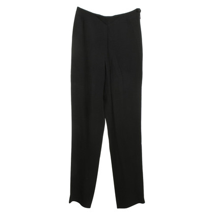 Chanel trousers in black