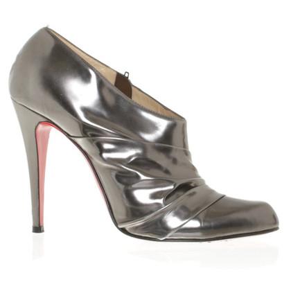 Christian Louboutin pumps in metallic look