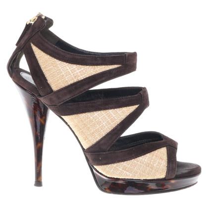 Fendi Leren sandalen