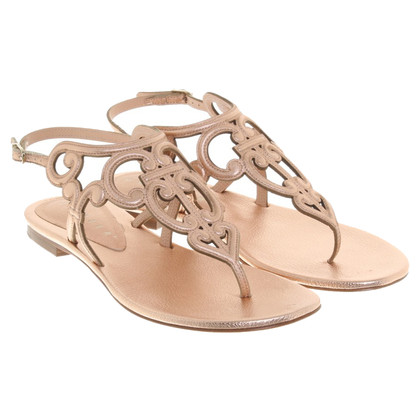Unützer Sandals in rose goud