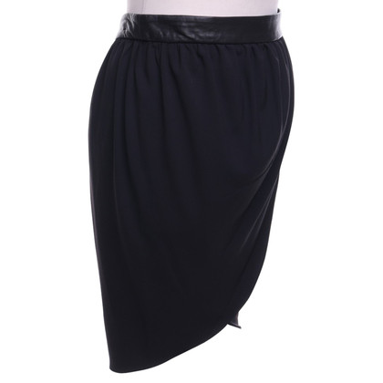 Alice + Olivia skirt with leather waistband