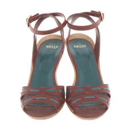 Farbe Leder Bally aus Andere aus Bally Sandaletten Andere Sandaletten Farbe Leder aBxx7vq