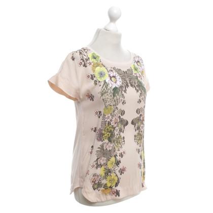 Marc Cain T-shirt con un motivo floreale